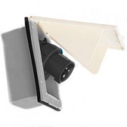 Tapa rectangular toma 220v