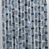 Cortina terciopelo 560 x 1850 cm gris - azul mix